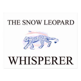 The Snow Leopard Whisperer Postcards
