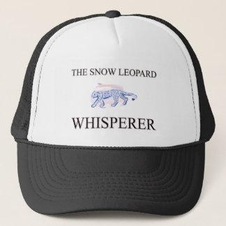 The Snow Leopard Whisperer Trucker Hat