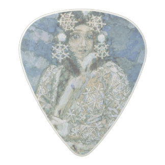 The Snow Maiden, a sketch for the Opera Acetal Guitar Pick