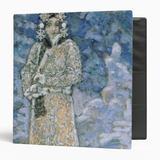 The Snow Maiden, a sketch for the Opera Vinyl Binder