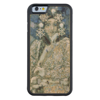 The Snow Maiden, a sketch for the Opera Carved® Maple iPhone 6 Bumper