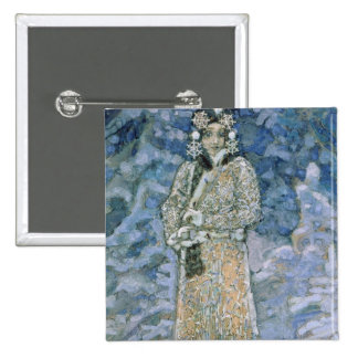 The Snow Maiden, a sketch for the Opera Pinback Button