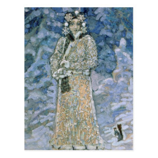 The Snow Maiden, a sketch for the Opera Postcard