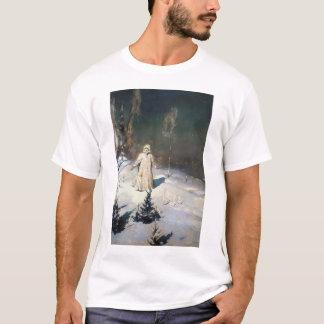 The Snow Maiden Fantasy Art T-Shirt