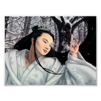 The Snow Maiden Poster
