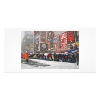 The Snow Must Go On Photo Cards