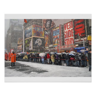 The Snow Must Go On Print