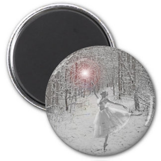The Snow Queen 2 Inch Round Magnet