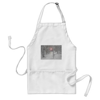 The Snow Queen Adult Apron