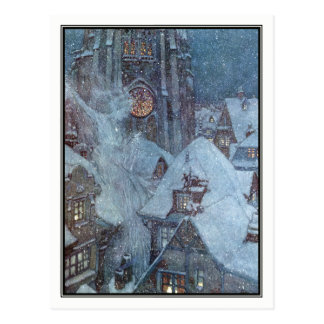 The Snow Queen by Edmund Dulac Postcard