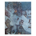 The Snow Queen by Edmund Dulac Poster