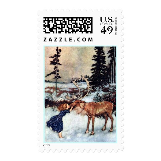 The Snow Queen Fairy Tale with Gerda  Postage