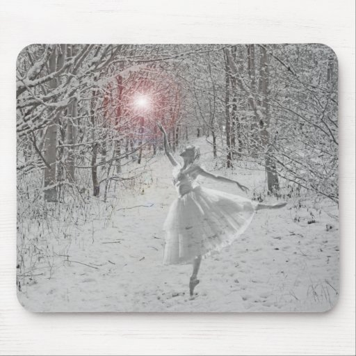 The Snow Queen Mouse Pad