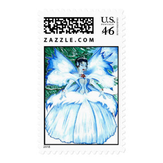 The Snow Queen Postage Stamp