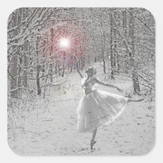 The Snow Queen Square Sticker