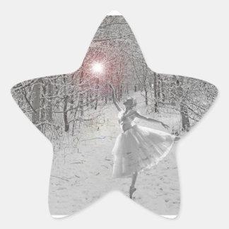 The Snow Queen Star Sticker