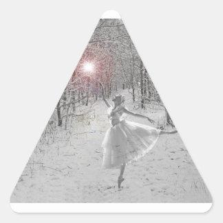 The Snow Queen Triangle Sticker