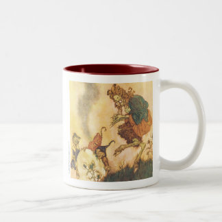 The Snow Queen Two-Tone Coffee Mug