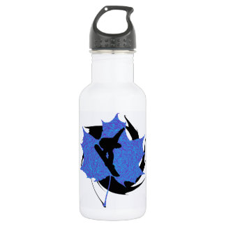 THE SNOWBARDING EDGE STAINLESS STEEL WATER BOTTLE
