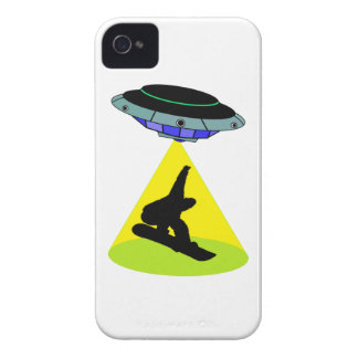 THE SNOWBOARD ABDUCTION iPhone 4 Case-Mate CASE