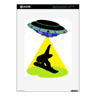 THE SNOWBOARD ABDUCTION iPad 3 SKINS