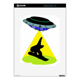 THE SNOWBOARD ABDUCTION SKIN FOR THE iPad 2