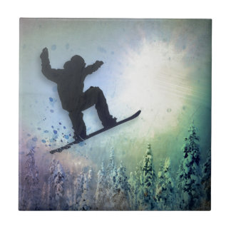 The Snowboarder: Air Tile