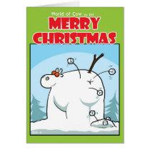 The Snowcow Card