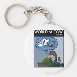 The Snowcow Keychain