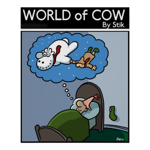 The SnowCow Poster
