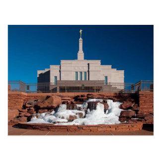 The Snowflake Arizona LDS Temple Postcard