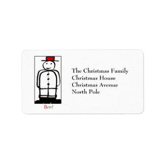 The Snowman Label