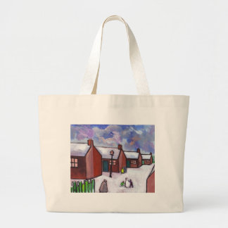 THE SNOWMAN LARGE TOTE BAG