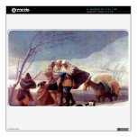 The snowstorm by Francisco de Goya MacBook Skin