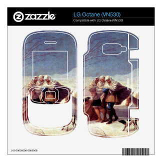 The snowstorm by Francisco de Goya Decals For The LG Octane
