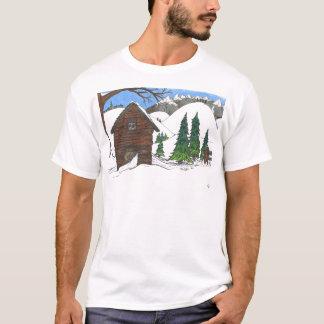 The Snowy Cabin T-Shirt