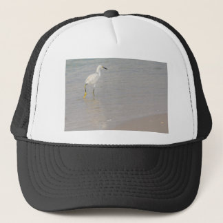 The Snowy Egret Trucker Hat