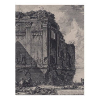 The So called Temple of Salus, on the Road Postcard
