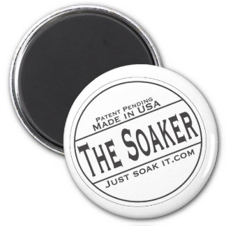 The Soaker 2 Inch Round Magnet
