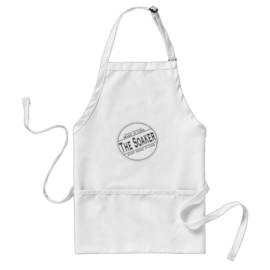 The Soaker Adult Apron