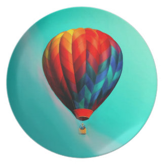 The Soaring Balloon Collectors Plate