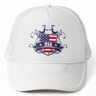 the soccer USA Mesh Hat