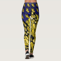 The Social Butterfly Pop Fashion Leggings