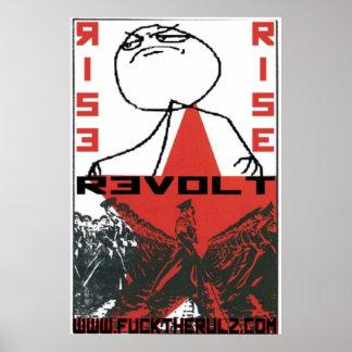The Social Shakedown Rise & Revolt Poster