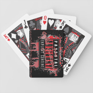 The Social Shakedown Show Playing Cards