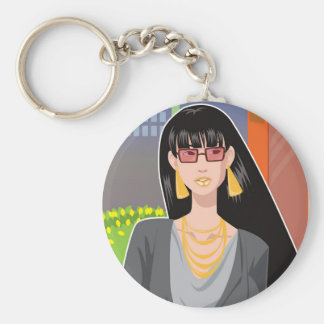 The Socialite Keychain