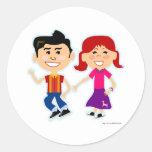The Sock Hop Kids Classic Round Sticker