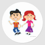 The Sock Hop Kids Stickers