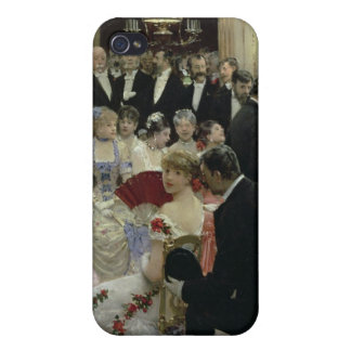 The Soiree, c.1880 iPhone 4/4S Cover