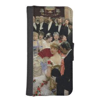 The Soiree, c.1880 iPhone SE/5/5s Wallet Case